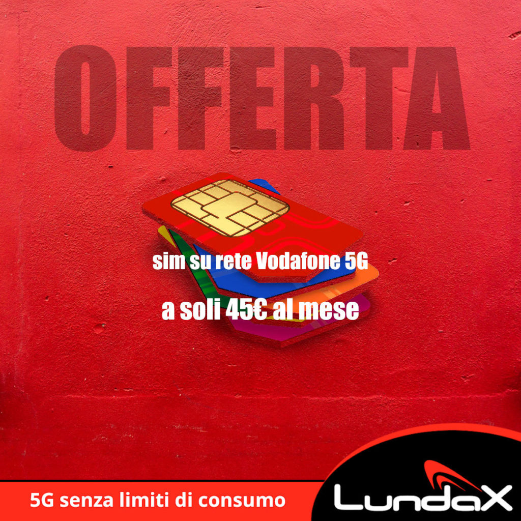 Offerta rete Vodafone 5G